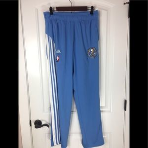 Adidas Denver Nuggets pull away track pants